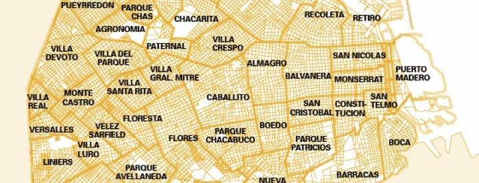 Barrios de CABA