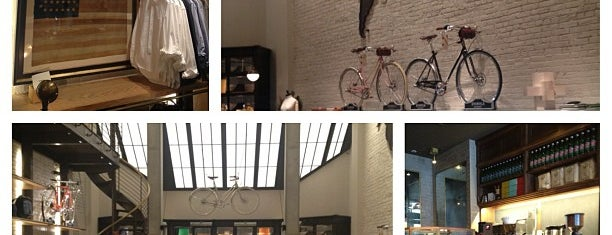 Shinola Flagship Tribeca is one of NYC Shopping.