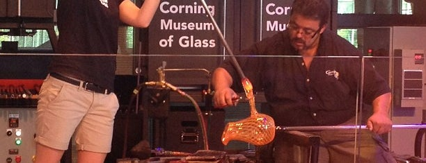 Corning Museum of Glass is one of Anthony'un Kaydettiği Mekanlar.