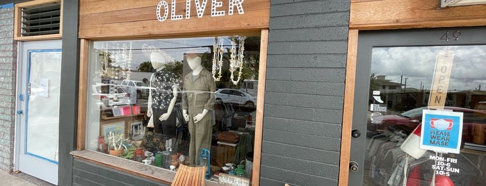Oliver Men's Shop is one of Oahu.