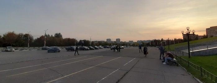 Площадь у Белого Дома is one of Park / plaza / outdoors.