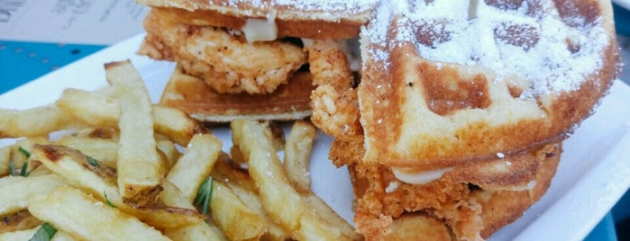 The 15 Best Places For Chicken Waffles In San Francisco