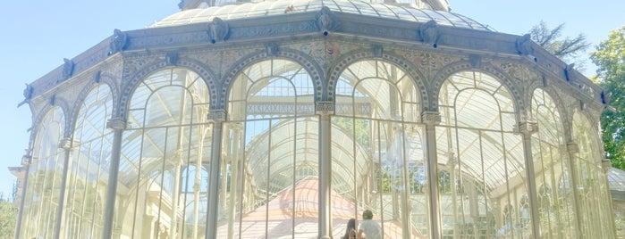 Parque del Retiro is one of Madrid.
