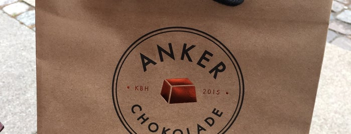 Anker Chokolade is one of Copenhagen.