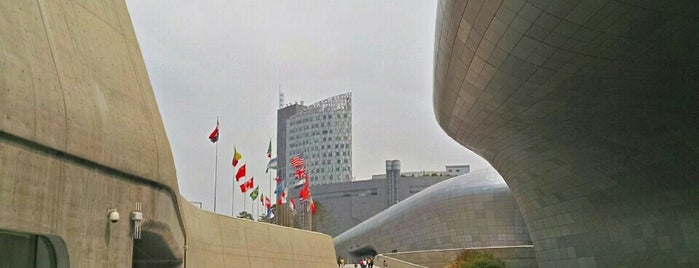 Dongdaemun Design Plaza is one of Seoul.