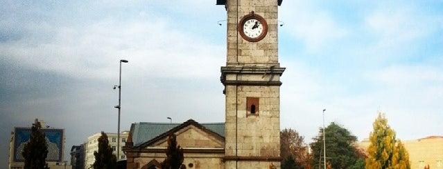 Saat Kulesi is one of Tempat yang Disimpan 🆉🅴🆈🅽🅴🅻.