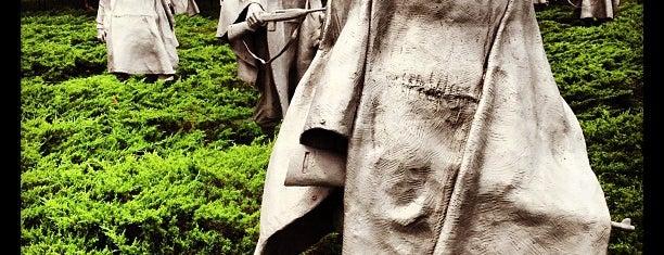 Korean War Veterans Memorial is one of Washington DC 4th July.