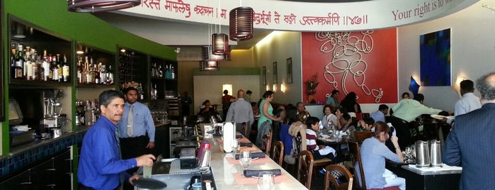 Amber India is one of SF Chronicle Top 100 Restaurants 2013.
