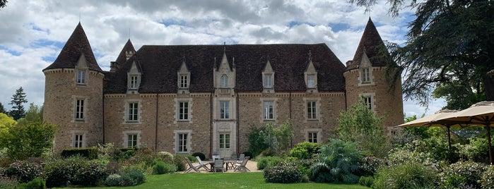 Domaine des étangs is one of Bordeaux Michelin.