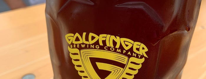 Goldfinger Brewing Co. is one of Lugares favoritos de Chris.
