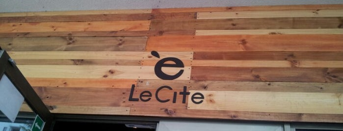 Le Citè is one of Check!.