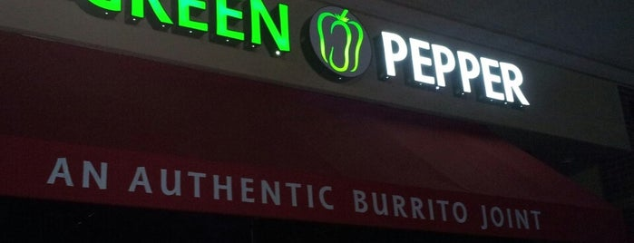 The Green Pepper is one of Lugares favoritos de Paul.