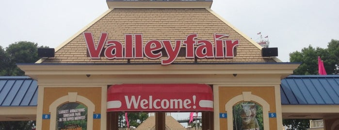Valleyfair is one of All The Places I Can Think of That I've been.