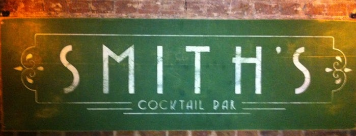 Smith's Bar is one of London Munchies Vol.5.
