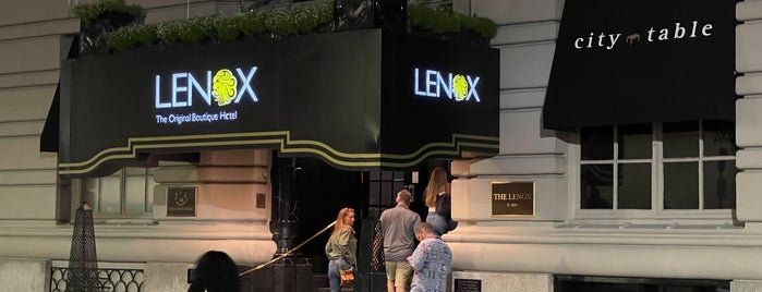 The Lenox Hotel is one of Btown!.