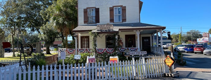 Oldest Store Museum is one of St Augustine Florida.
