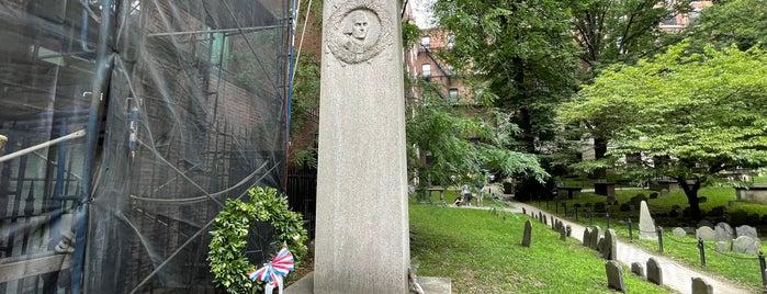 John Hancock Grave is one of Boston.