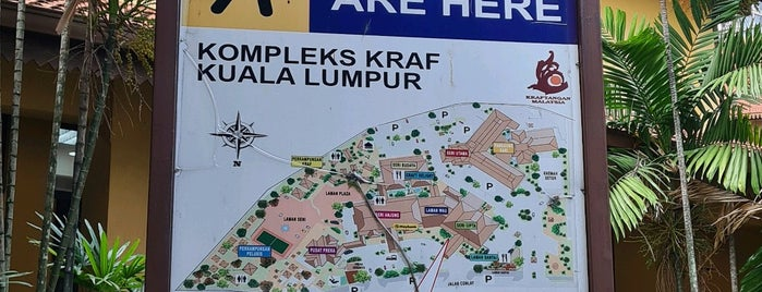 Kompleks Kraf Kuala Lumpur is one of 4sq Cities! (Asia & Others).