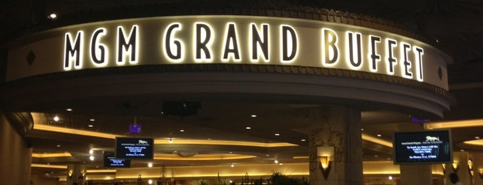 MGM Grand Buffet is one of Arthur's Great Place To Eat.