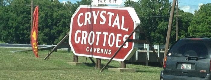 Crystal Grottoes Caverns is one of สถานที่ที่บันทึกไว้ของ Ms..
