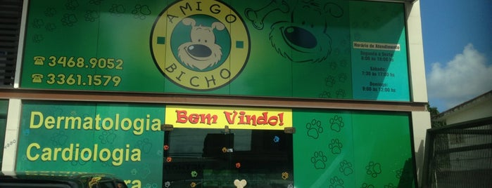 Clínica Amigo Bicho Pet Shop - Candeias is one of Natural da Terra 님이 저장한 장소.