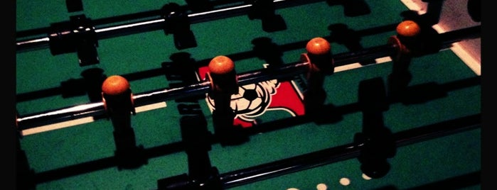 The Gibson is one of Foosball bars.