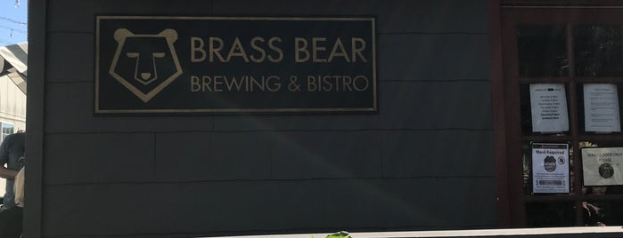 Brass Bear Brewing & Bistro is one of #CRUMBALLS.