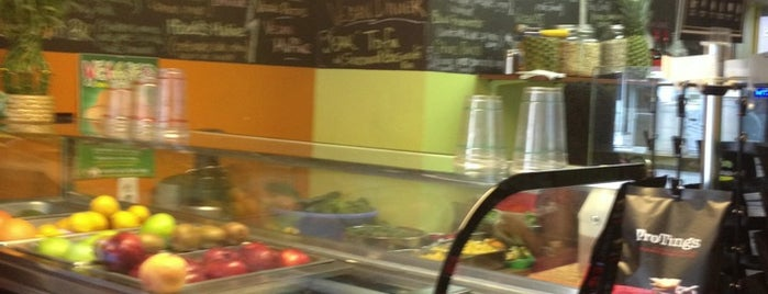 Veggies Natural Juice Bar is one of 200 Black-Owned Restaurants in NYC.