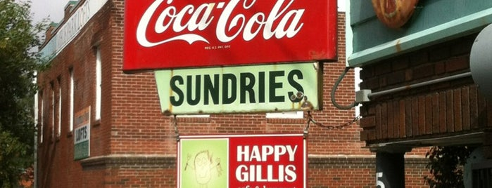 Happy Gillis Cafe & Hangout is one of USA Kansas City.