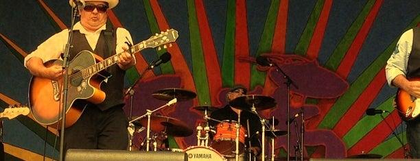 Jazz Fest Blues tent is one of Pam : понравившиеся места.