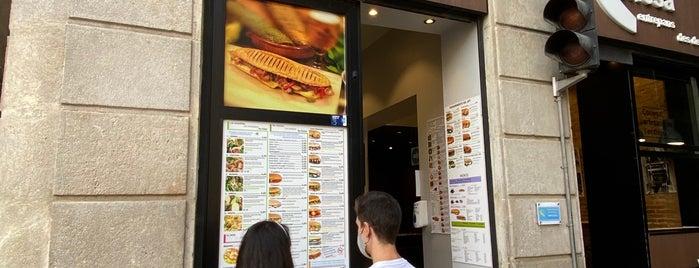 Conesa Entrepans is one of Gluten free Barcelona.