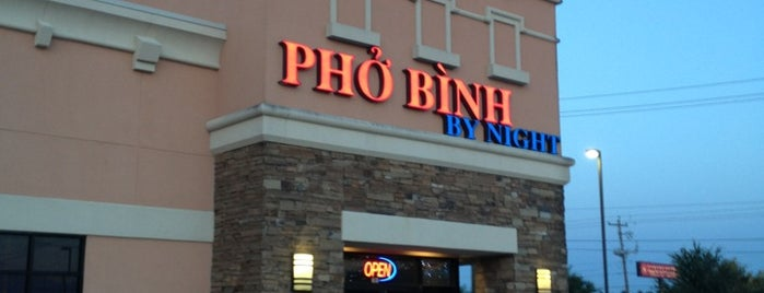 Pho Binh By Night is one of Awesome Houston.