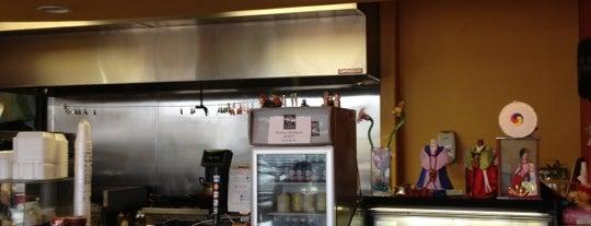 Kimchi Korean Cafe is one of สถานที่ที่บันทึกไว้ของ Eva.