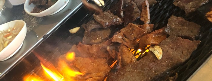 Nak Won Korean BBQ House is one of Locais curtidos por MC.
