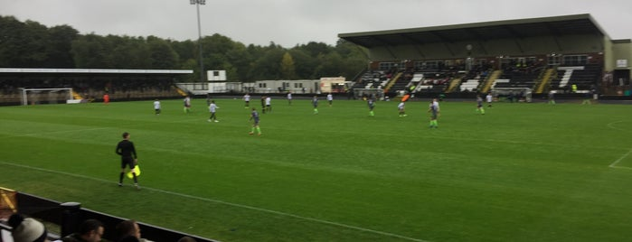 Keys Park is one of Non-League Football Grounds (Northern).