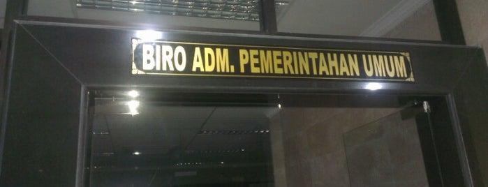 Biro Administrasi Pemerintahan Umum is one of Government of Surabaya and East Java.