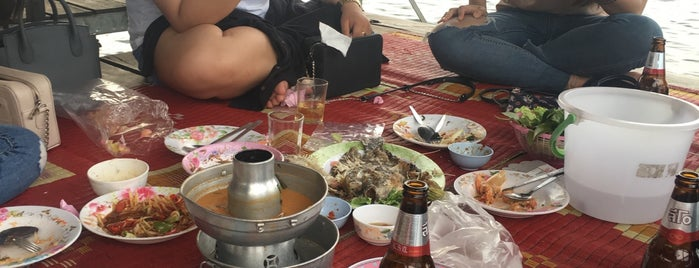 ร้านอาหารแป๊ะชวนชิม (เขื่อนสิรินธร) is one of อุบลราชธานี - 2.