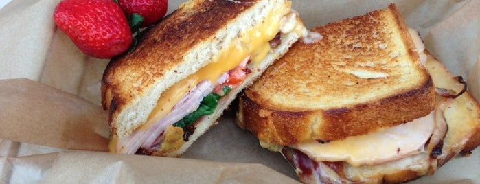 The American Grilled Cheese Kitchen is one of SFO.