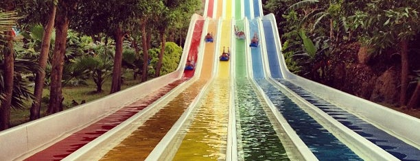 Vinpearl Water World is one of Things to try in Nah Trang.