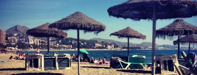 Playa de La Malagueta is one of Málaga: Coffee, brunch, shopping & chill places!.