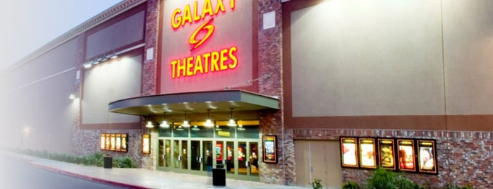 Galaxy Cannery Theatre is one of Tempat yang Disukai Stephanie.
