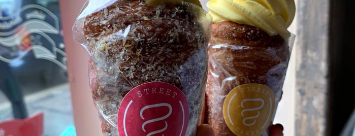 Street Cakes is one of Yet to visit.