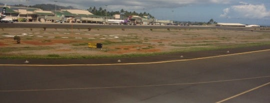 Lihue Airport (LIH) is one of Airports I´ve been to.