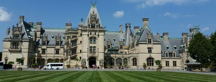 The Biltmore Estate is one of Daingerfield/Davenport Wedding in Asheville!.