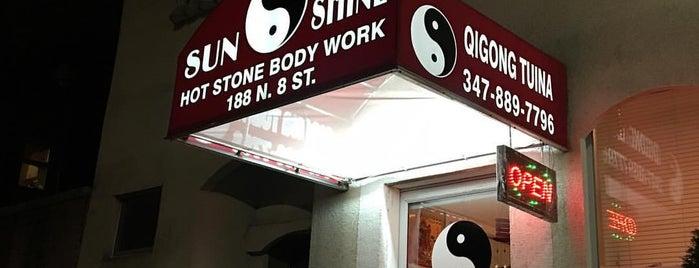 sunshine hot stone body work is one of Brooklyn.