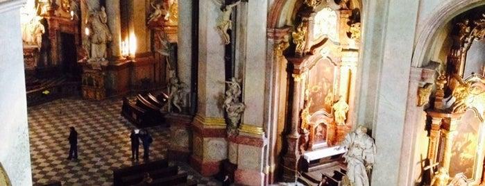 St.-Nikolaus-Kirche is one of Prag - Must see.