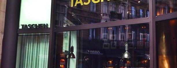 Taschen is one of Bxl shops.