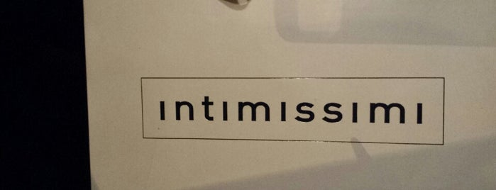 Intimissimi is one of Shopping.