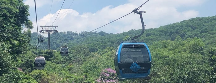 Baiun Cableway is one of Guangdong.