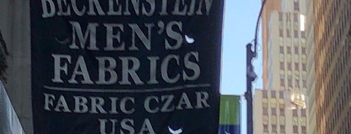 Beckenstein Men's Fabric is one of Suppliers.